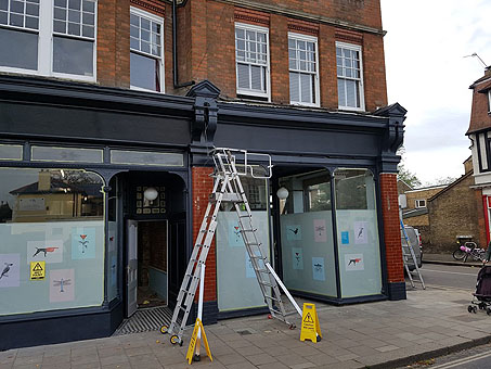 NJC building consultants provided party wall surveyor services when the client wanted to combine two retail units into a single space