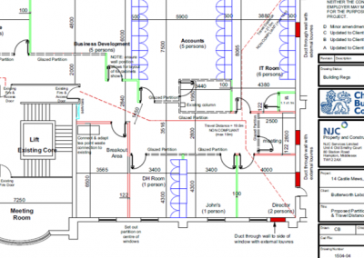 Office Refurbishment_Architectural Plan_Planning Application_NJC Building Consultant_D3